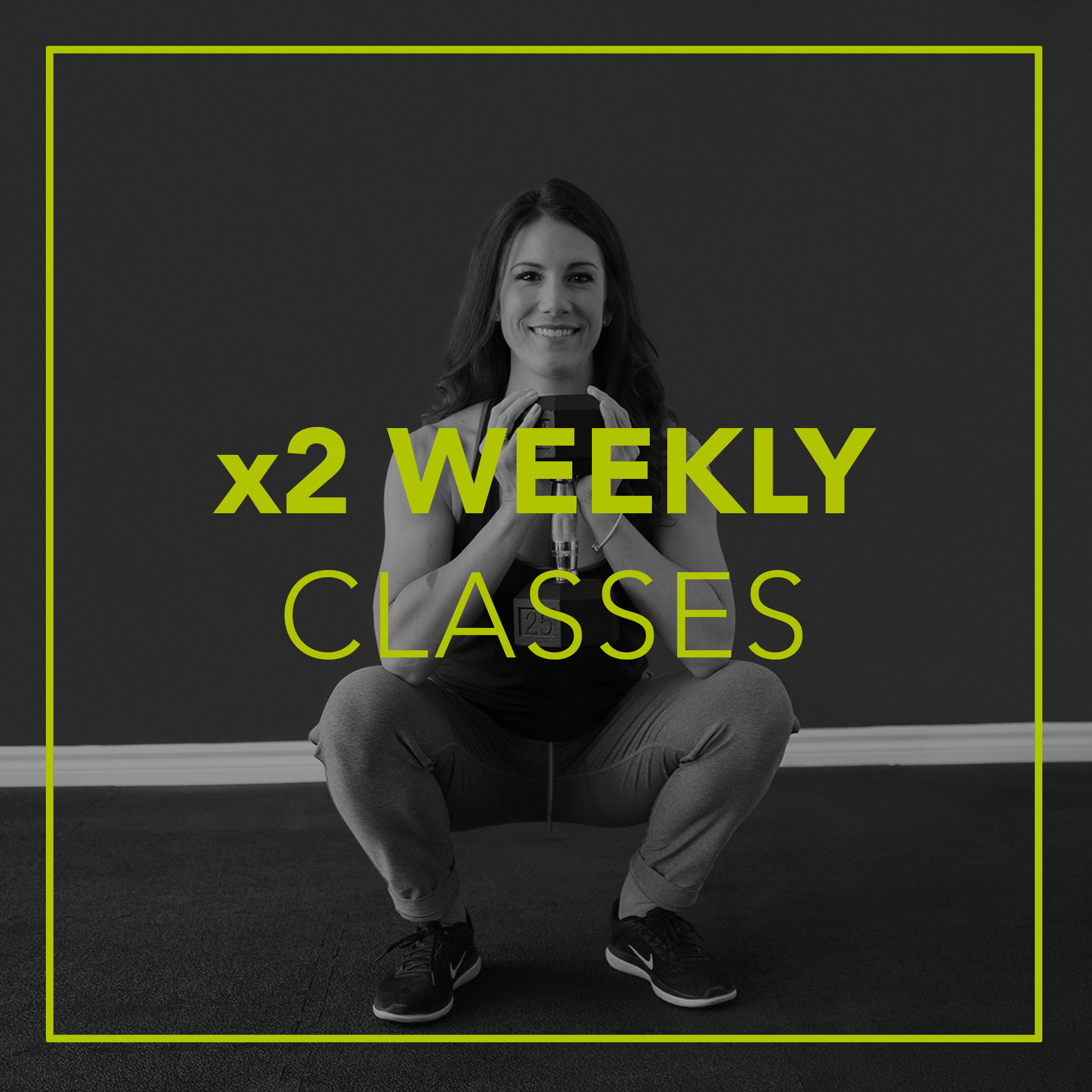 weekly online fitness classes